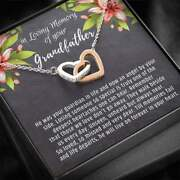 Loss Of Granddad Gift Necklace Death Of Grandfather Memorial Day Military Army