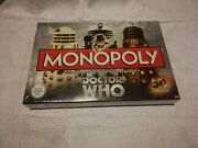 Dr Who Monopoly Board Game 50th Anniversary Collector's Edition 2012 New