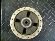 Yamaha Ttr90 Rear Wheel Hub With Rubber Dampers