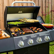 Expert Bbq Grill 4 Burner With Side Burner Propane Gas Barbeque Grill Stainless