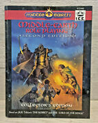 I.c.e. Middle Earth Role Playing 2nd Collectors Edition Hardback 1993 Merp 2000