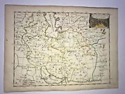 Persian Empire Armenia 1746 By Le Rouge Antique Engraved Map 18th Century