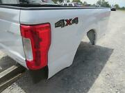 2019 Ford F250sd Truck Bed Box 8and039 White Tailgate Tail Lights Oem Rear Lamps Gate