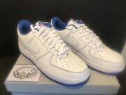 Nike Air Force 1 Game Royal Contrast Stitch White Cv1724-101 Menand039s Size