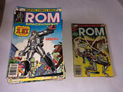 Rom The Space Knight 1-75 Complete Annuals 1-4 Marvel Bronze Comic Rogue Xmen