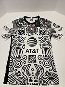 Nike Club America 2020/2021 Third Soccer Jersey Authentic White Black Mens Small