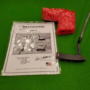 Bettinardi Putter Limited Milled Fcb Dass Fat Cat White Red With Head Cover