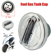 57mm Round Motorcycle Fuel Gas Tank Cap Cover For Scooter Atv Dirt Bike Modified