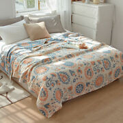 Active Printing China Blanket Soft Gauze Blanket Thin Sofa Cover Pure Cotton New