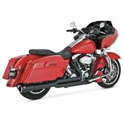 Vance And Hines Pro Pipe Black Exhaust System Harley, Electra Glide, Road King