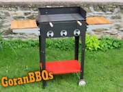 Serbian Grill Bbq, Handmade,home,unique, One Of A Kind, Modern Design, Black,red