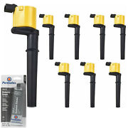 8 Pack Energy Ignition Coil And Grease For 2014 2013 2012 Ford 5.8l 5.4l 4.6l V8