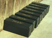 Lot Of 1 One Used Pcgs Black Storage Boxes - 20 Coin One Box.no Stickers