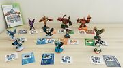 Lot Of Assorted Skylander Giants Action Figurines W/portal Stand And Xbox 360 Game