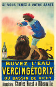 Vichy Water 1923 Cappiello French Art Deco Drink Advertising Canvas Print 20x31