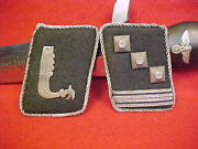 German Rare Waffen Elite Guards 5th Panzer Div Wiking Officer's 900 Silver Tabs