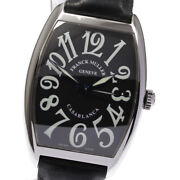 Franck Muller Casablanca 2852 Black Dial Automatic Menand039s Watch_620428