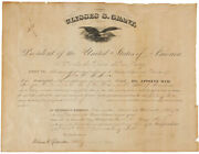Ulysses S. Grant - Civil Appointment Signed 03/14/1873 With Co-signers