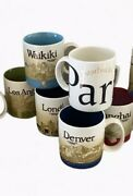 Limited Rare Starbucks City Mugs And You Are Here Mugs Collection Lot Of 16