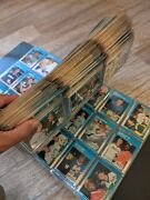 Baseball Players Cards Collectors 38 Page Album 340+80s 90s Cards Storage Finder