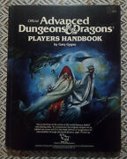 Official Advanced Dungeons And Dragons Player Handbook 1988 By Gary Gygax