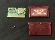 Pokemon Ruby Version Game Boy Advance Authentic New Battery Tested Vgc