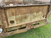 Vintage 40andrsquos 50andrsquos Ford Truck Pickup Tailgate Original Paint Patina