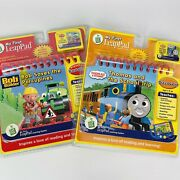 2 Leap Frog My First Leappad Game Book Bundle Bob Builder Thomas And Friends 2002