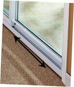 Sliding Glass Door Security Bar White Color - Feel Safe At Home With These