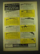 1957 Winfield Arms Ad - Model '38 Carbine, British Jungle Carbine, Enfield