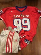 Army Knights Football East West Shrine Game Used Jersey Clarence Holmes