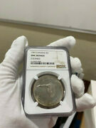 1967 Canada Silver Dollar Goose Ngc Unc Details Cleaned Light Golden Toned Loc3