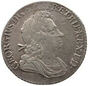 Great Britain Shilling 1723 George I. Top  T59 039