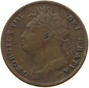 Great Britain Farthing 1822 George Iv. T84 391