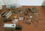 Large Lot Of Miscellaneous Brass And Metal Pieces For Model Trainslot 38
