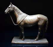 Japanese Vintage Horse Bronze Sculpture By Ito Kunio