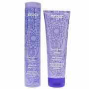 Amika Bust Your Brass Cool Blonde Shampoo 10 Oz And Conditioner 8.45 Oz Combo Pack