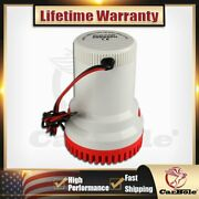Electric Submersible Marine Bilge Sump Water Pump For Boat Yacht Rv 12v 2000gph