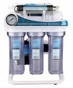 Reverse Osmosis Ultraviolet Water Filter System Uv Ro 6 Stage 100gpd