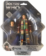 Doctor Who Fourth Dr W Swappable Head And Sonic Screwdriver New 4th Tom Baker
