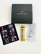 Marc Chagall Asher Limited Edition 24k Gold Mezuzah With Case Signed Coa