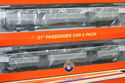 Lionel 85327 New York Central 21 Baggage Car 2 Pack