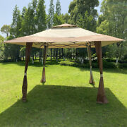 13x13ft Pop-up Outdoor Canopy Tent Gazebo Awning For Patio Garden Party Wedding