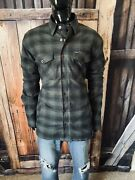 """Dixxon Flannel Limited Edition """"snap On"""" Full Button/zip Coat Size Xl Mint"""