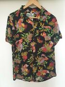 Mambo Loud Shirt - Mens Size S -rare - Galah With Beer And Matches Flowers- Vgc