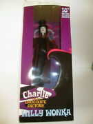 Autographed Charlie And Chocolate Factory Willy Wonka Johnny Depp Doll 18 Proof