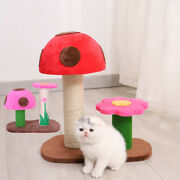 Cat Toys Activity Tree Cat Tree Tower Cat Scratching Post Cat Climbing Frame