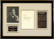 Ronald Reagan - Typed Letter Signed 03/24/1980