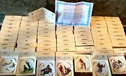 The Best Of Norman Rockwell Miniature Four Seasons Plates 66 In Original Boxes