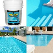Pool Acrylic Exterior Paint Stain Resistant Water Based Coating Supply 5 Gallon
